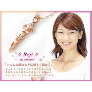 Beji(ベジ) dagger/ネックレス【ピンクゴールド・ダガー】【矢部美佳さん着用】