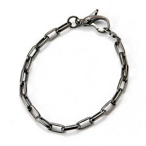 LION HEART(ライオンハート) basis/Chain Bracelet/ブレスレット 【シルバー925 ブラックコーティング】
