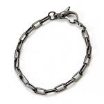 LION HEART/ライオンハート basis/Chain Bracelet/ブレスレット 【シルバー925 ブラックコーティング】