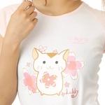 Beji(ベジ) Lukkyちゃん/リブカップ スリーブTシャツ Lサイズ セット