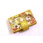 HANDYA(ハンディア) レザーカードケース hdy-cd001 ゴールド