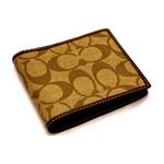 COACH(コーチ) 財布(二つ折り財布) メンズヘリテージ シグネチャー F74084SKHBR