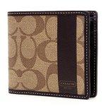 COACH(コーチ) 財布(二つ折り財布) メンズヘリテージ シグネチャー F74516SKHBR