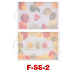 リバーシブル抗菌まな板 F-SS-2 フルーツ
