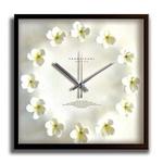 《掛時計》Plumeria Clock White(プルメリアクロック/ホワイト)