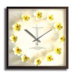 《掛時計》Plumeria Clock Yellow(プルメリアクロック/イエロー)