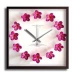 《掛時計》Plumeria Clock Pink(プルメリアクロック/ピンク)