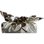 《ティッシュカバー》CHOU tissue cover Monstera/brown gray(モンステラ/ブラウン グレー)