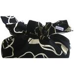 《ティッシュカバー》CHOU tissue cover Line Flower/onyx black