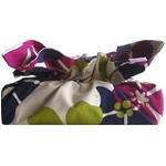《ティッシュカバー》CHOU tissue cover Cute Flower/cranberry