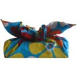 《ティッシュカバー》CHOU tissue cover Cute Flower/aquq blue