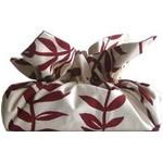 《ティッシュカバー》CHOU tissue cover Herbe Grass/wine kinari
