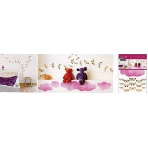 《ウォールステッカー》Home stickers Kalou / Butterflies