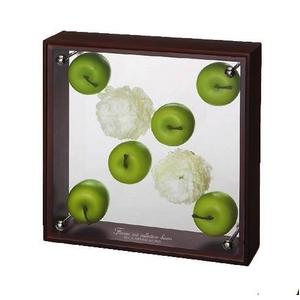 《フラワーフレーム》フラワーアート コレクションボックス Mサイズ・アップル&ピンポンマム3