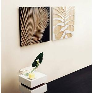 ウッド スカルプチャー アート フェニックスA/ホワイト