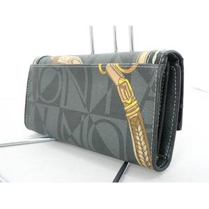 BONIA(ボニア) 被せ財布 080470-503-08 憎いプリントが光る「漢」のサイフ!