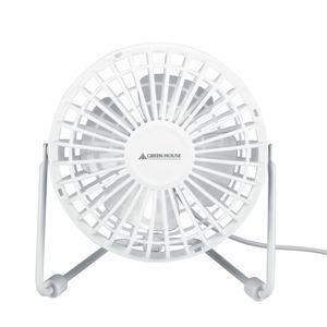 GREENHOUSE(グリーンハウス) USB扇風機 スパイダー GH-USB-FANSPW ホワイト