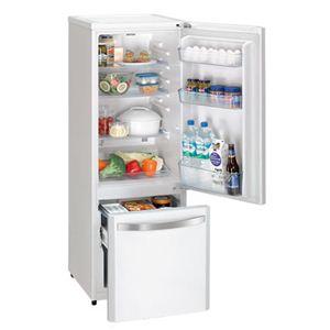 Haier(ハイアール) 冷凍冷蔵庫 168L ホワイト JR-NF170DW
