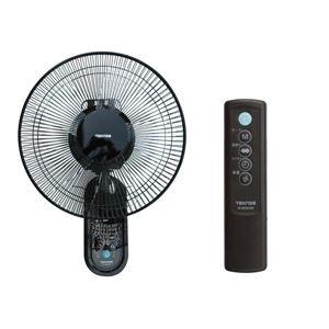 TEKNOS 壁掛け扇 扇風機 30cm羽根 リモコン付 KI-W301RK ブラック