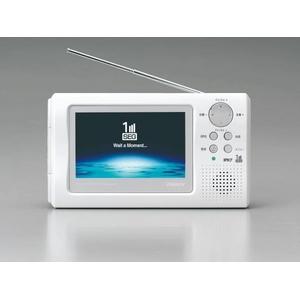 TWINBIRD(ツインバード) 4インチポータブル防水地上デジタル液晶テレビ VL-J405PW
