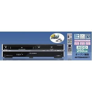 地上デジタルHDD搭載ビデオ一体DVDレコーダー 20GB DX BROADTEC DXRW250