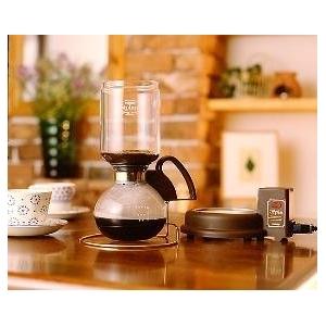 TWINBIRD(ツインバード) サイフォン式コーヒーメーカー カフェタウン CM-851BR
