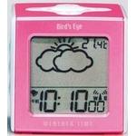 TWINBIRD(ツインバード) お天気予報機能付き電波クロック Weather Time