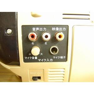 創和 カラオケ機能搭載 DVDダブルカセット WD-100