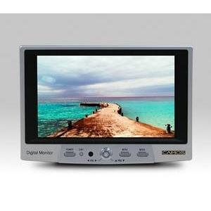 CAMOS(カモス) 車載用液晶モニター CM-780D 車載用以外に監視用モニターや撮影のチェックにも