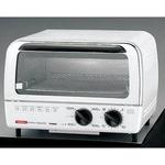 ツインバード オーブントースター 1200W TS-4016W コンパクトで機能充実