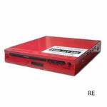 コム・アライアンス MP3対応DVDプレイヤー YTO-106C/RE レッド CPRM対応 多彩な出力端子!薄型ボディ 【新品メーカー保証つき】