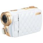 グリーンハウス 3.0型TFTカラー液晶モニター搭載HD画質デジタルカメラ(ホワイト) GHV-DV30HDLXW SDビデオカメラ