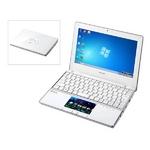 シャープ モバイルパソコン Mebius 10.1型ワイド ピュアクリーン液晶 PC-NJ80B-W
