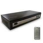 PS3やwiiなどHDMIケーブルの分配・切替をこのセレクターで MotionTech HDMI Matrix 4×2 HM42(リモコン付)