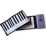LaLaモーション ロールアップピアノ(61鍵盤) MT-RP100 【ACアダプター サスティンペダル付】
