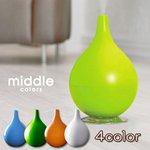 middle colors(ミドルカラーズ) ?5畳用 ハイブリット加湿器 MD-KH1001(IBL)ブルー