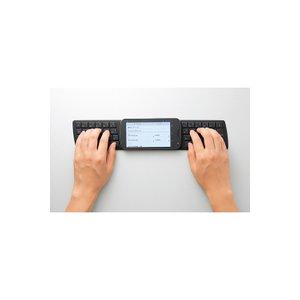 エレコム(ELECOM) NFC対応シリコンキーボード TK-FNS040BK