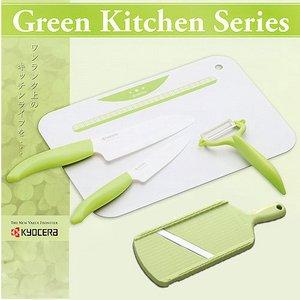 KYOCERA(京セラ) ファインセラミックスキッチン用品 セラミック包丁5点セット