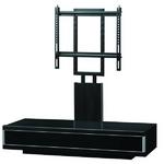インテリアテレビラック(テレビ台) AS-1100WD 薄型テレビ対応スタンド 37V~52V型対応 黒木目で多様なシチュエーションに対応