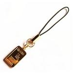 !24金純金ストラップ【インゴット】証明書付 24K99.99% ゴールド携帯ストラップ