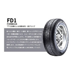 FEDERAL(フェデラル) オンロードタイヤ FORMOZA FD1165/55R 14インチ 1本
