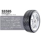 FEDERAL(フェデラル) オンロードタイヤ SS595 215/40R 17 インチ 1本