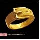 純金ゴールドリング【ベルト】999ゴールド r12