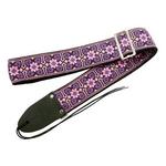ギター用ベース用ストラップ 70年代のミュージシャン達の愛用したストラップを再現 Retrovibe Strap 1965 Purple パープル