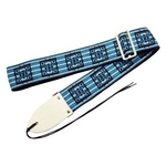 ギター用ベース用ストラップ 70年代のミュージシャン達の愛用したストラップを再現 Retrovibe Strap 1966 Blue ブルー