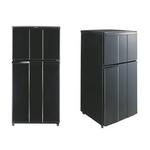 冷蔵庫 Haier 2ドア 冷凍冷蔵庫 98L 直冷式 ノンフロン設計 JR-N100C/K ブラック 【エコポイント対象】 【250L以下】