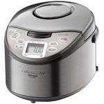 MITSUBISHI(三菱) 炊飯器 NJ-JS06(T) (三菱)連続沸騰でおいしく炊く「大沸騰IH」、 ハリとツヤを引き出す「超音波吸水」、 炭炊釜2.5mm、3.5合炊きの詳細ページへ