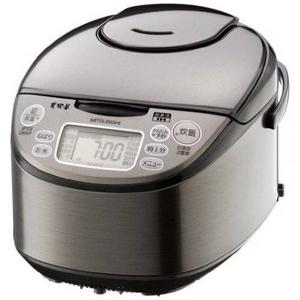 MITSUBISHI(三菱) 炊飯器「大沸騰IH」三菱 IHジャー NJ-KE18-S1升炊き炊飯ジャー 内釜と炭2重構造でごはんがさらにふっくら