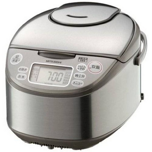 MITSUBISHI(三菱) 炊飯器 NJ-KH18(S) 三菱 10合炊き 1.8mm遠赤厚釜 「大沸騰IH」NJ-KH18-S IHジャー炊飯器 シルバー 1升炊き