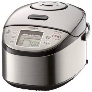 MITSUBISHI(三菱) 炊飯器 NJ-TE18 「超音波吸水」、1.2気圧105℃「大沸騰圧力」 超音波圧力IHジャー